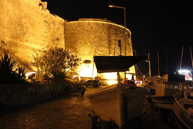 De burcht van Kyrenia