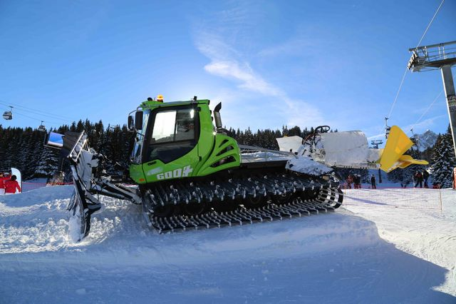 Pisten Bully 600E - nouvelle machine hybride