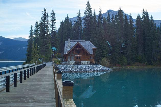 Emerald Lake Rockies