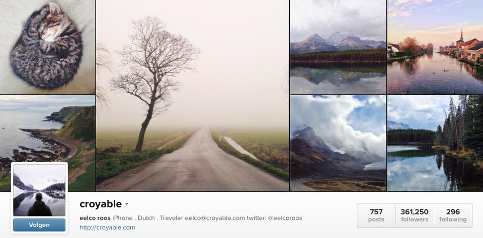 instagram-foto's-travel