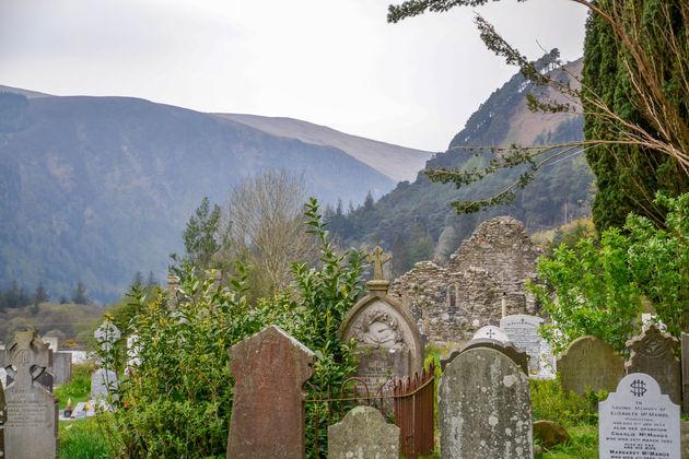 Glendalough-kerkhof