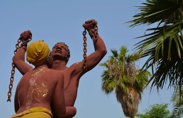 Goree-slavenstandbeeld