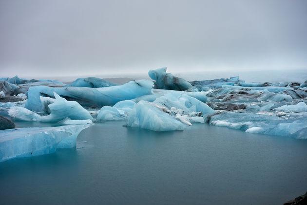 ijsland Jökulsárlón ijsrotsen