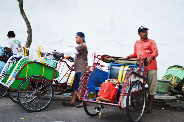 java-becak