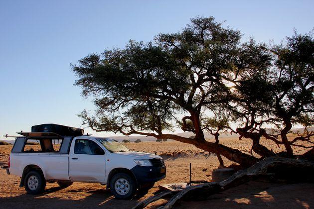 kamperen-namibië