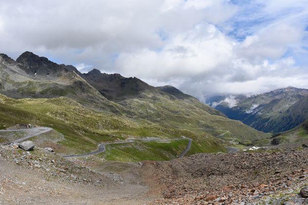 Kaunertaler-Gletscherstraße-haarspeldbochten
