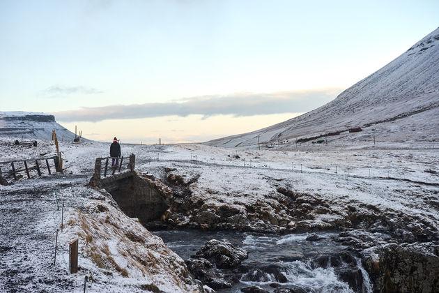 Kirkjufellsfoss waterfalls ijsland
