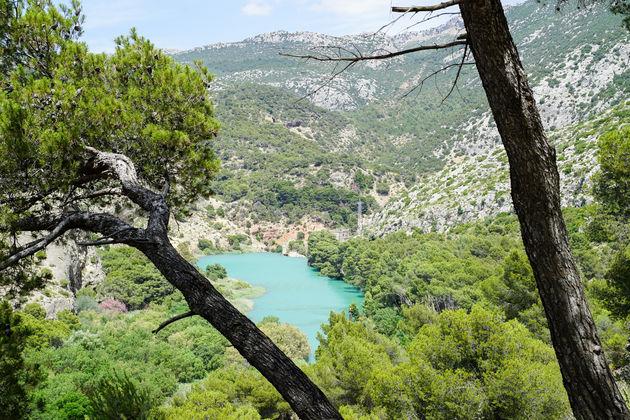 Koningspad met turquoise meren