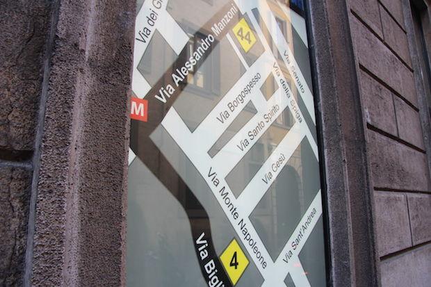 Kruis Via Montenapoleone