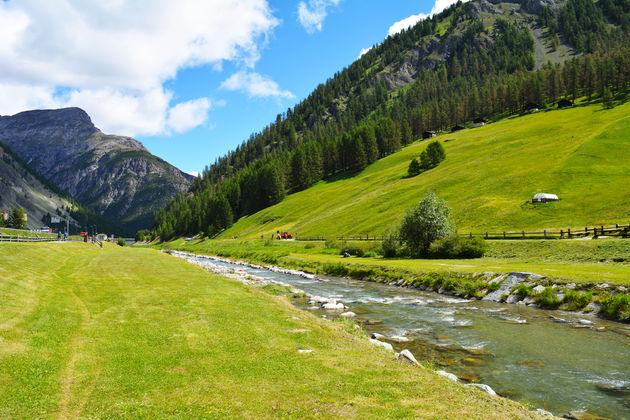 livigno-zomer-rivier