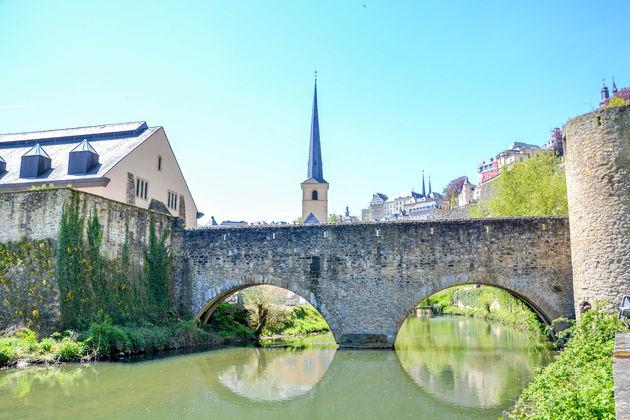 Luxemburg-Grund-wandelen