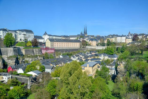 Luxemburg-stad-uitzicht-grund