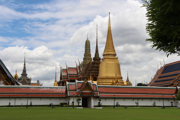 Machtig mooi... Grand Palace en Wat Phra Kaew