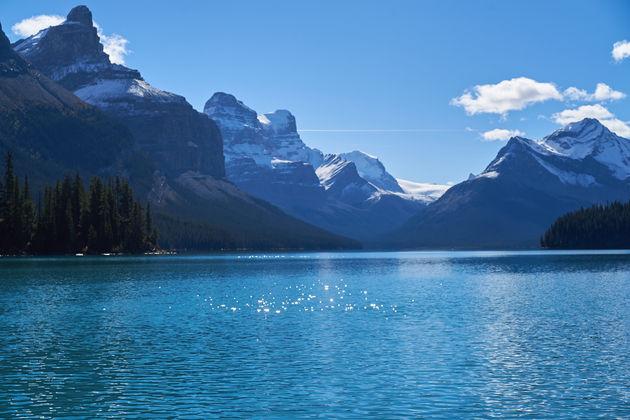 Maligne Lake Rockies
