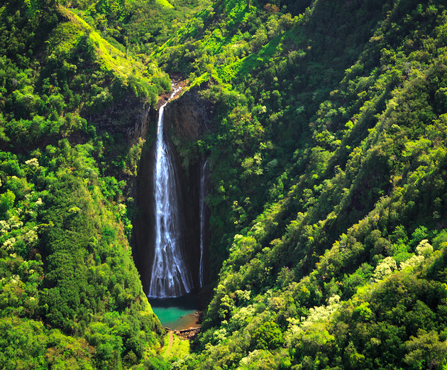 Manawaiopuna-Falls