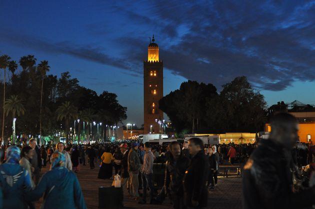 marrakech-avond