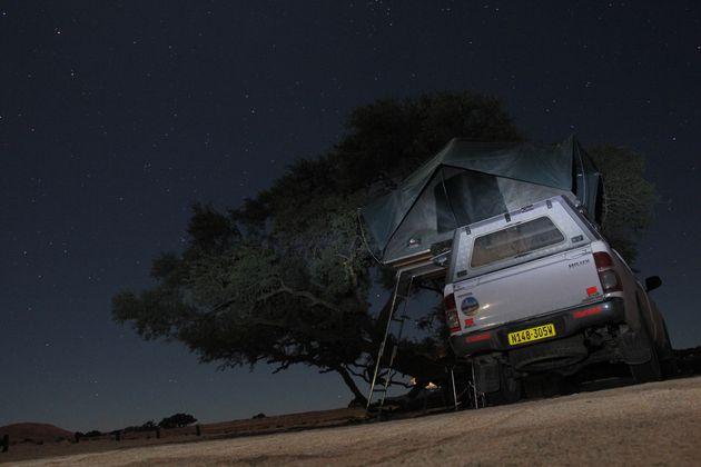 namibië-kamperen-nacht