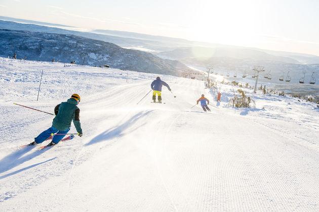 norefjell-skiën.
