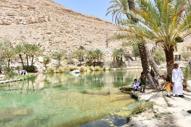 oase-wadi-oman