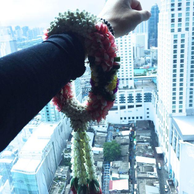 ontvangst-bloemen-bangkok