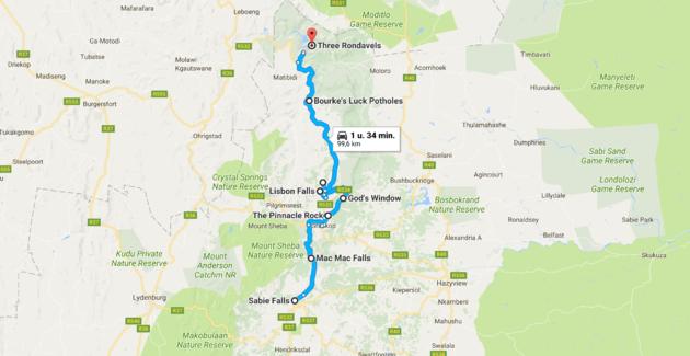 panorama-route-zuid-afrika-kaart