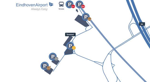 parkeren-vliegveld-eindhoven