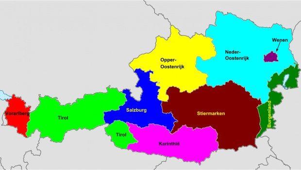 provincies_oostenrijk