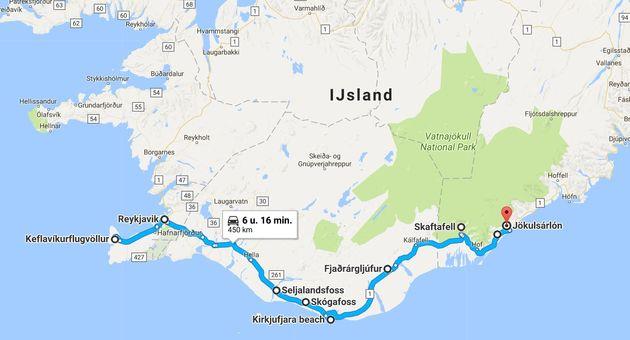 Route-roadtrip-ijsland