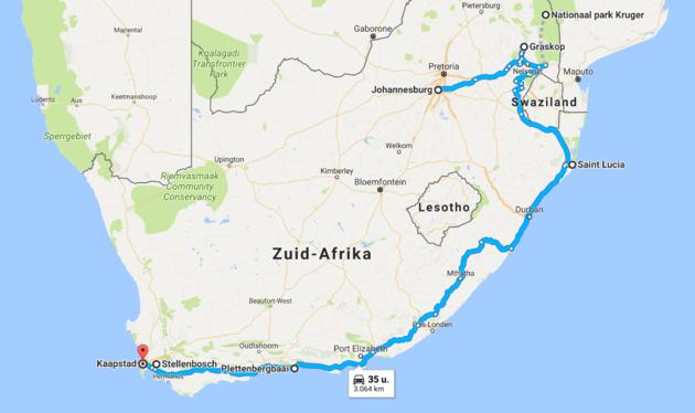 route-rondreis-zuid-afrika