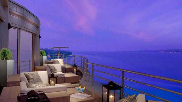 Royal Suite Balkon uitzicht