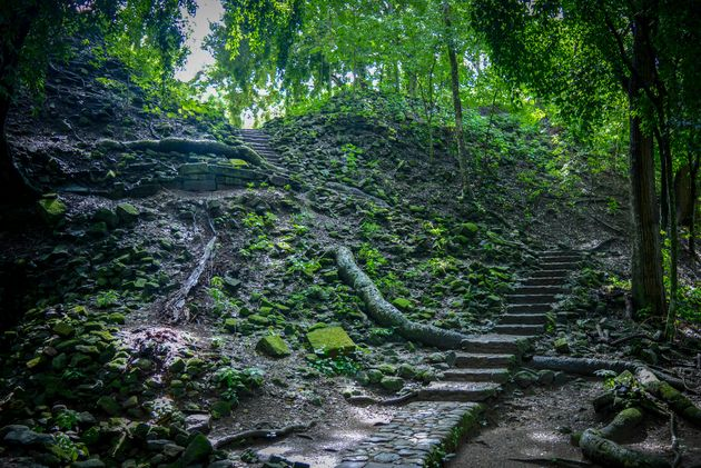 Ruines-Copan-honduras-jungle