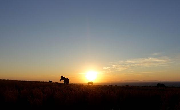 santorini-zonsondergang