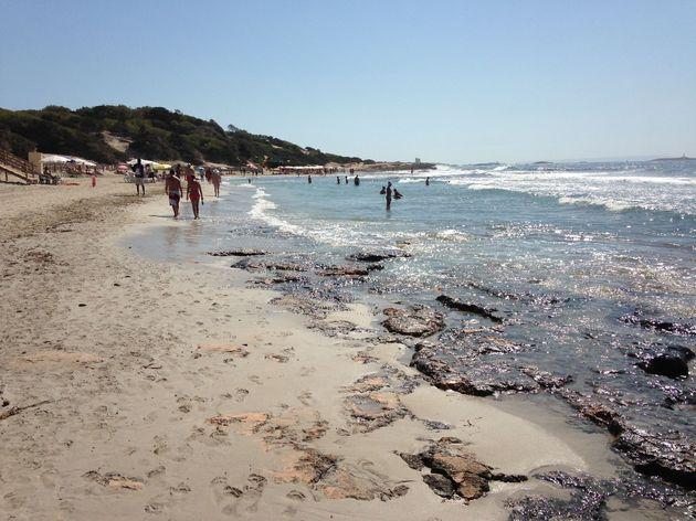 Ses Salinas strand 2