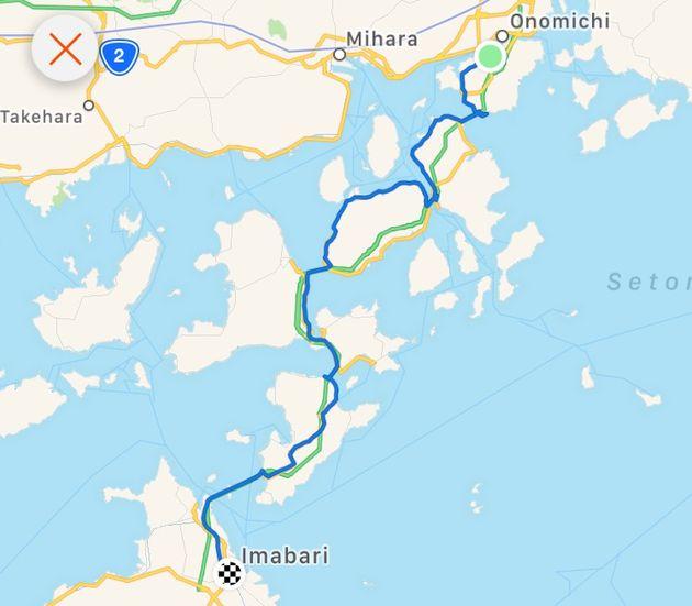 Shimanami-Kaido-route