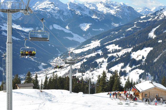 skiën-zon