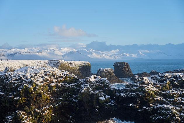Snaefellsnes noorden van ijsland
