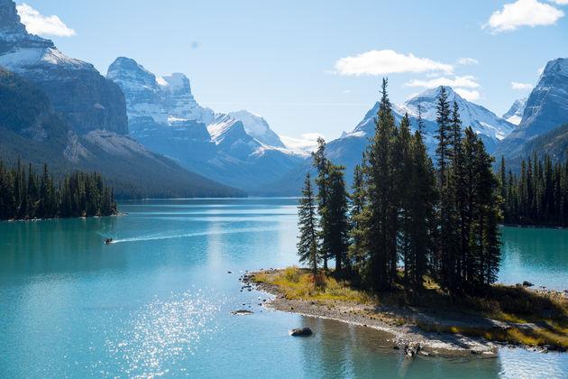 Spirit Island Maligne Lake Canada
