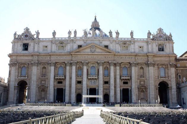 St. Pieter in Vaticaanstad bij Rome