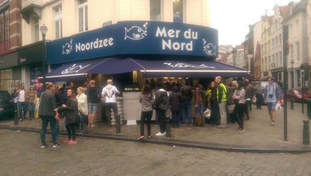 Stedentrip-Brussel-Noordzee