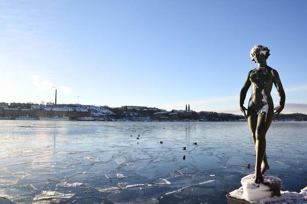 stockholm-Bevroren-meer