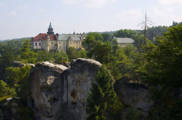 Tsjechie_Hrubá_Skála_kasteel