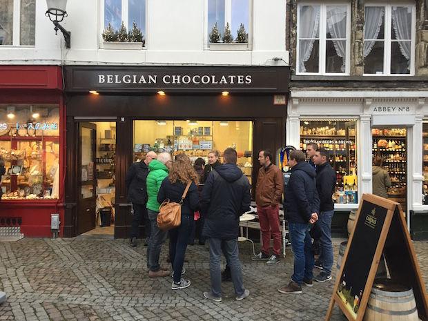 uitleg over chocolade