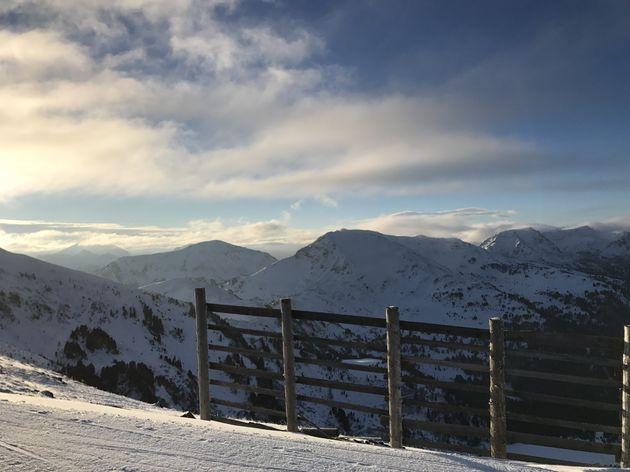 Uitzicht Alpen Karinthië
