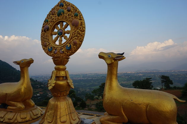 uitzicht-klooster-vlakbij-Kathmandu