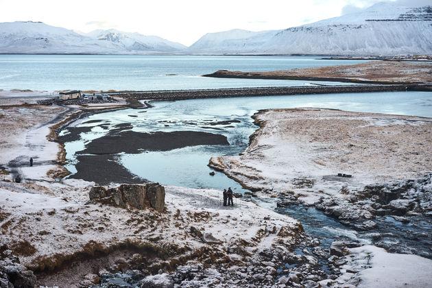 Uitzicht Snaefellsnes ijsland