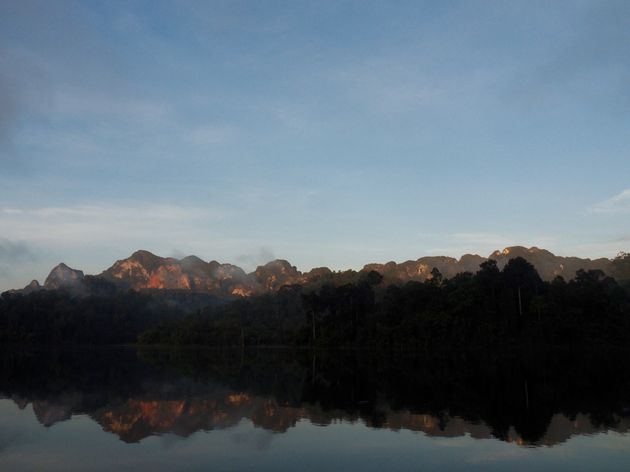 Uitzicht vanuit je tent Elephant Hills Rainforest Camp (9)