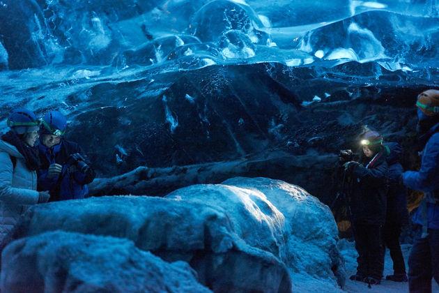 Vatnajökull Glacier ijsland