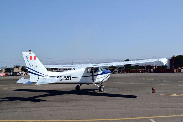 Vliegtuig-peru