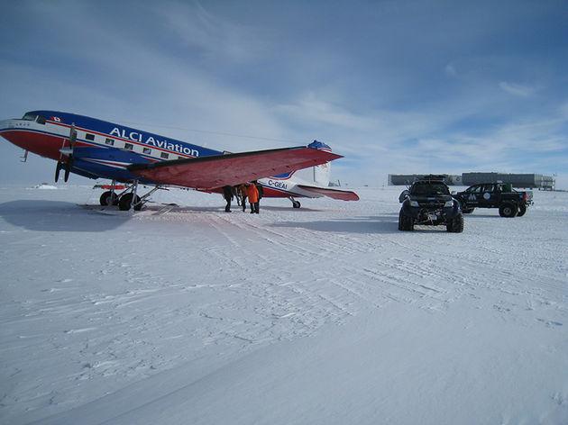 vliegtuig-zuidpool