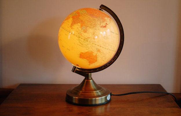 wereldbol-verlichting